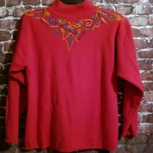 Vintage IB Diffusion Red Sweater